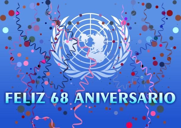 Feliz cumpleaños ONU