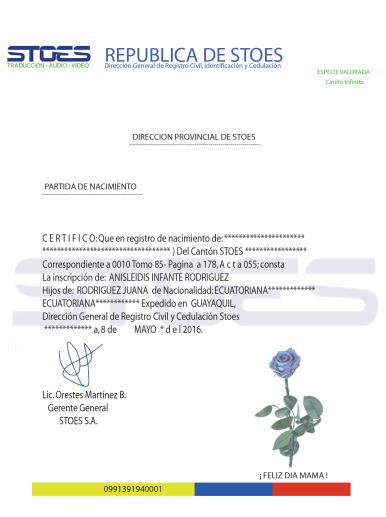 certificado de nacimiento bilingue 2