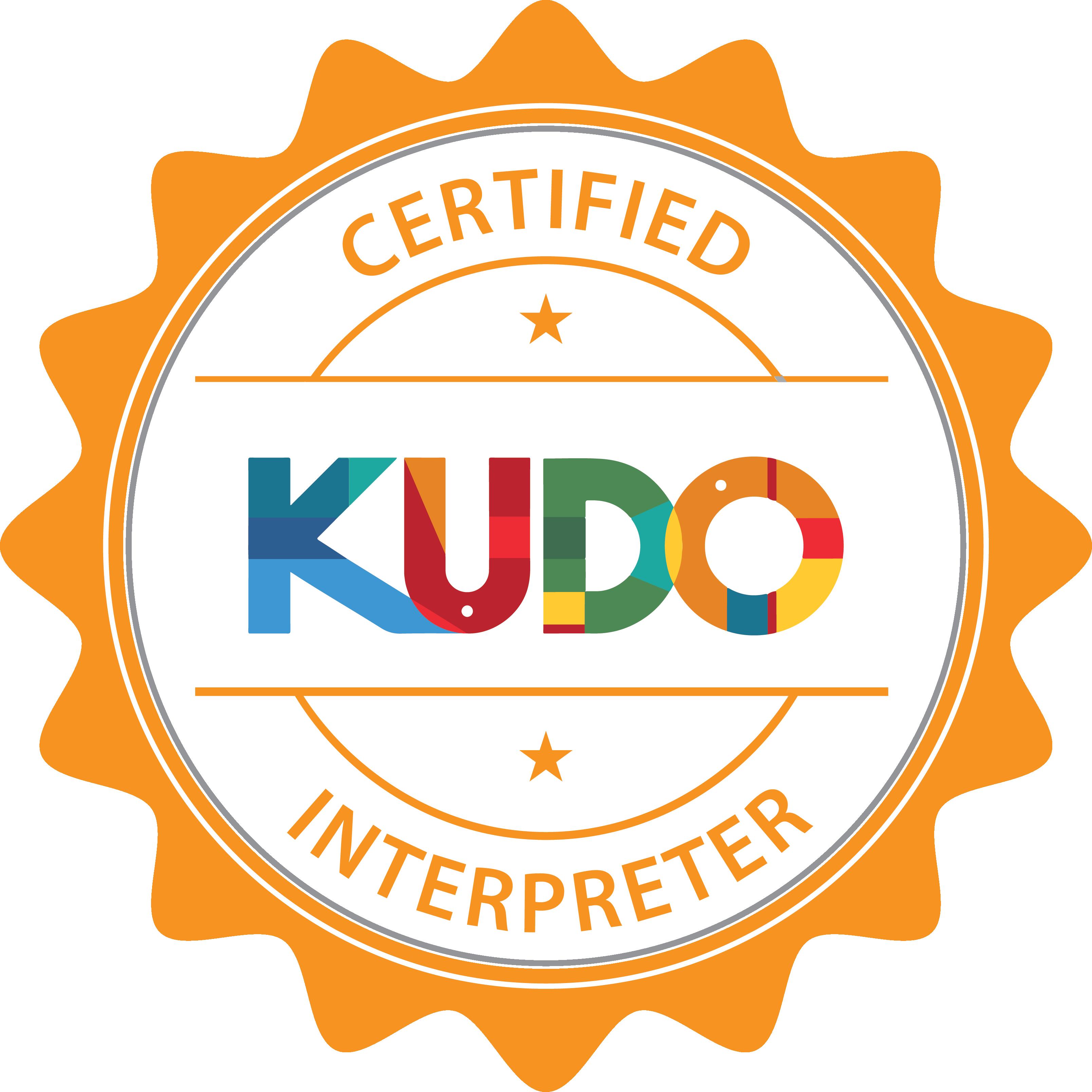 kudo-interpreter-badge