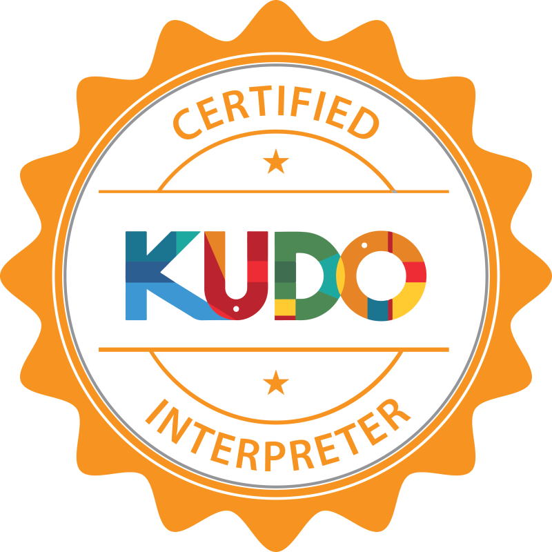 kudo-interpreter-badge